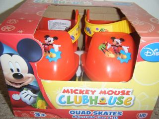 DISNEY MICKEY MOUSE CLUBHOUSE QUAD SKATES   NEW