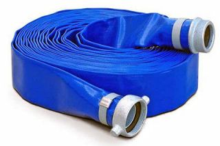 DuroMax 2 x 50 Ft Discharge Evacuation Hose For Water Pump   NPT