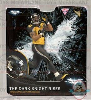 TOYS THE DARK KNIGHT RISES HINES WARD GOTHAM ROGUES 6 ACTION FIGURE