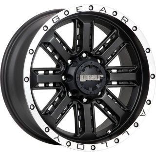 17 inch Gear Alloy Nitro black wheel rim 6x5.5 Sequoia Tacoma Tundra