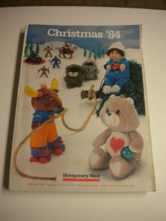 Vintage 1984 Montgomery Ward Christmas Gifts Catalog, BIN