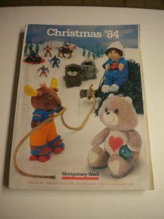 Vintage 1984 Montgomery Ward Christmas Gifts Catalog, BIN
