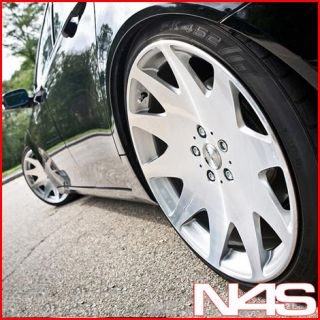 20 BENZ CL500 CL550 CL600 MRR HR3 CONCAVE VIP SILVER STAGGERED WHEELS
