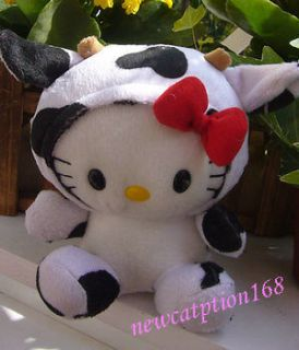 NEW SANRIO HELLO KITTY COSPLAY MILK COW VERSION plush toy Doll