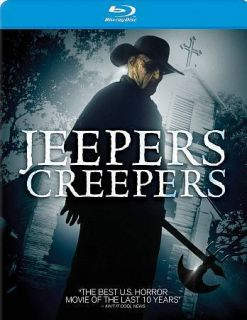 Jeepers Creepers Blu ray *NEW* Justin Long, Gina Phillips