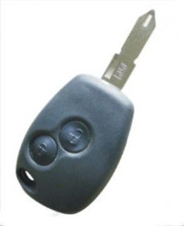 Button Remote Key Shell replacement Car Keys Fob Case For Renault