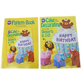 2009 Wilton Cake Decorating Yearbook & Pattern Book Set