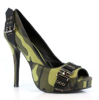 camouflage high heels in Heels
