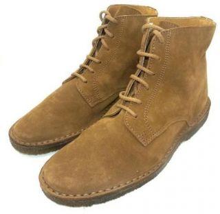 JCREW tall Suede MacAlister Boots 7 mens 9 womens khaki