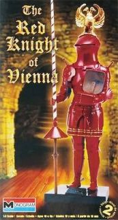Monogram 1/8 The Red Knight Of Vienna Model Kit