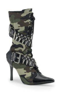 camo high heels in Heels