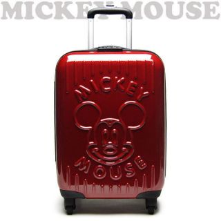 Art Weld Carry Case bag suitcase travel Mickey Mouse face wine size