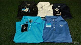 Tags Womens Long Sleeve Adidas ClimaCool Golf Polos Shirts MSRP $60 i