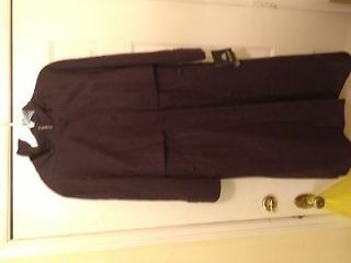 Vintage Fleet Street Rainwear jacket size 8, blackberry color, NWT
