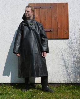 Jinqi​an Full Nature Rubber Fishing Smock, Rubber Rainwear Ölzeug