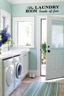 laundry room decor in Home Decor