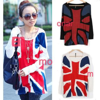 womens union jack t shirts in T Shirts