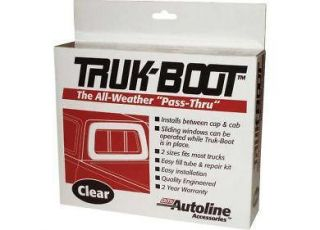 Truck cap, Topper Inflatable window boot #BT3000  Full size 24 x 16
