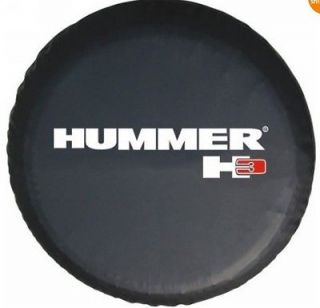 Spare Wheel Tire Cover Fit for 2006 2010 Hummer Size M 15 Great Brand