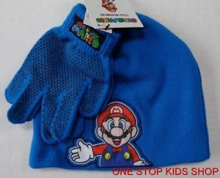 super mario winter hat in Clothing,