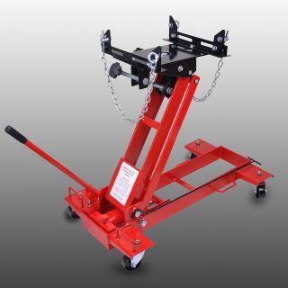 Ton Hydraulic Floor Transmission Jack Automotive Car Low Profile