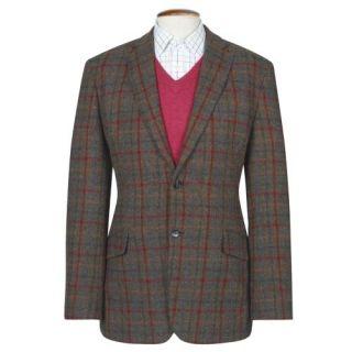 Genuine New Mens Fitted Harris Tweed Light Weight Wool Angus Jacket