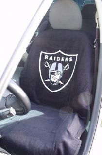 raiders car seat covers in  Motors