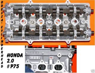 HONDA CRV 2.0 DOHC #P75 CYLINDER HEAD 98 01