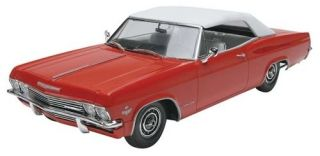 Revell 1965 Chevy Impala Convertible Plastic Model Car Kit 85 4933