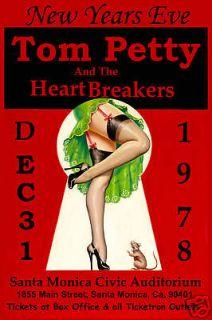 ROCK Tom Petty & Heartbreakers at Santa Monica Civic New Years Eve