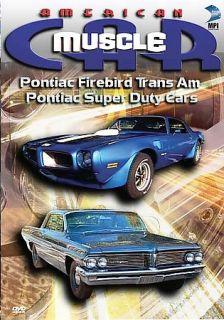 Car Pontiac Firebird Trans Am Pontiac Super Duty Cars DVD, 2006