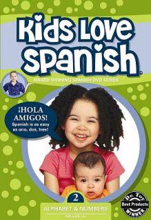 Kids Love Spanish, Vol. 2 Alphabet Numbers DVD, 2007