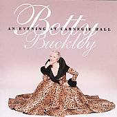 Evening at Carnegie Hall by Betty Buckley CD, Sep 1996, Sterling