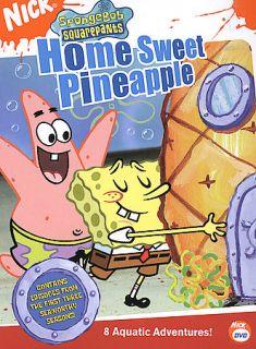 Spongebob Squarepants   Home Sweet Pineapple DVD, 2005