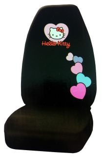 New Hello Kitty Pink and Black Car Seat Cover Car Accessories