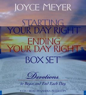 Starting Your Day Right Ending Your Day Right Box Set Devotions to