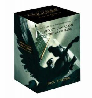 Percy Jackson pbk 5 book boxed Set by Rick Riordan 2011, Other
