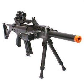 Rifle w/ Bipod FPS 220 Assault Rifle Airsoft Gun Combat Air Soft