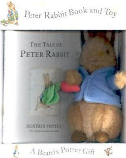 Peter Rabbit Book and Toy by Beatrix Potter 2006, Book, Other