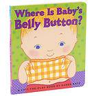 Where Is Babys Belly Button by Karen Katz 2000, Board Book