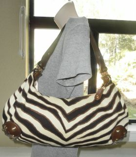 Michael Kors Tiger/Animal Print JOPLIN Handbag $268   Beautiful