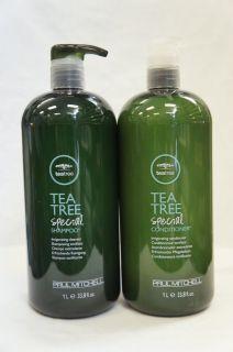 Paul Mitchell Tea Tree Special Shampoo & Conditioner 33.8 oz / 1 Liter