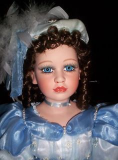 american classic cracker barrel porcelain 24 inch doll abigail