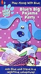 Blues Clues   Blues Big Pajama Party VHS, 1999
