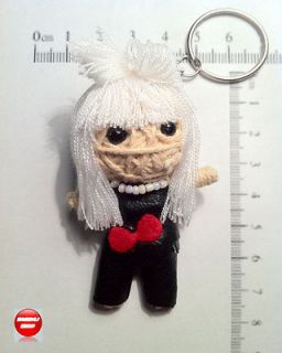 LADY GAGA Pop Superstar Singer Idol THAI Handmade Voodoo Keychain