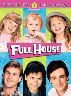 Full House   The Complete First Season (DVD, 2005, 4 Disc Set)