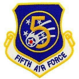 5th Fifth Air Force PATCH e