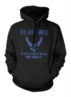 Air Force Sweatshirt Hoodie My Job Is To Protect YourDesigner
