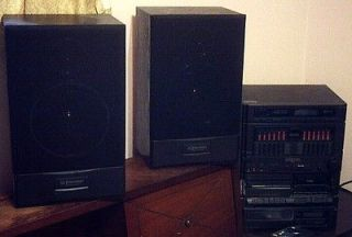 Digital Stereo System with remote control CD player & 2 speakers