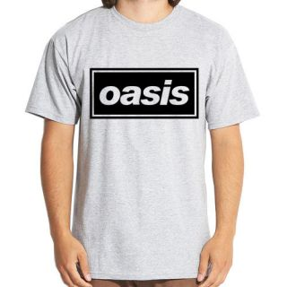 Oasis Logo English Brit pop rock band 8 colors t shirt